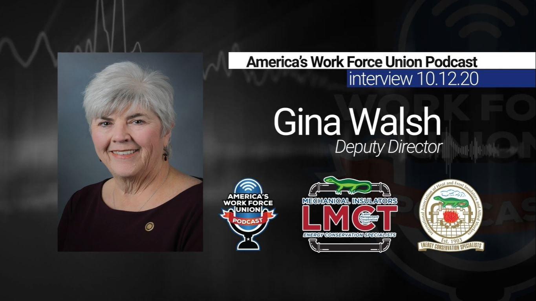 Insulators Union - Mechanical Insulators LMCT Deputy Director Gina Walsh